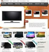 Website E-commerce Shop Web Design for Your TV Sales Business