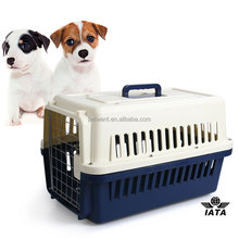 FC-1002 Plastic Dog Kennel Cage With Wheels