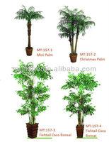 Artificial plant Artificial Mini Palm trees
