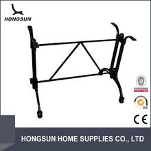 Fashion horseshoe wrought iron table legs bases