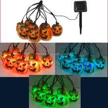 Halloween decoration pumpkin ghosts solar light