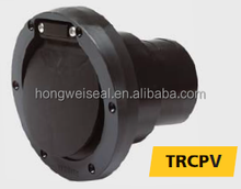Transom exhaust connections with check valve (synthetic) diameter 40 - 90 mm