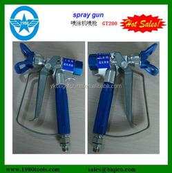 hvlp gravity gun voylet spray gun for car and wall paint air spray gun GT200