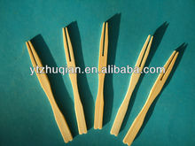 High Quality Party Bamboo Fruit Fork