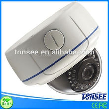 Auto zoom lens indoor/outdoor dome IP camera all in one ip network camera