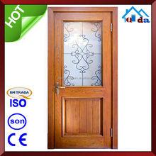 ผู้ผลิตจีนกินเวลาออกแบบประตูไม้ที่เป็นของแข็ง