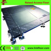 Modern OA network interior bare epoxy steel raised access floor system