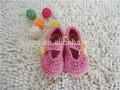atacado de bebê do crochet sapatos de lã de malha feito à mão crochet bebê infantil sapatos padrão