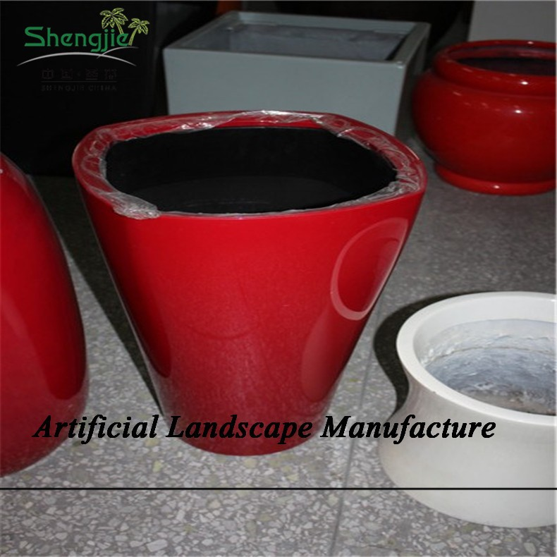 Sjzjn 977 Low Price Factory Price Fiber Glass Planter Grp