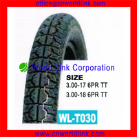 3.00-18 6PR Rubber Wholesale Vintage Motorcycle Tires