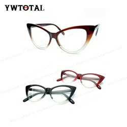 2015 New Designer CatEye Glasses Retro Fashion Black Women Glasses Frame Clear Lens Vintage Eyewear