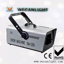 1200W snow making machine Wedding snow effect machine