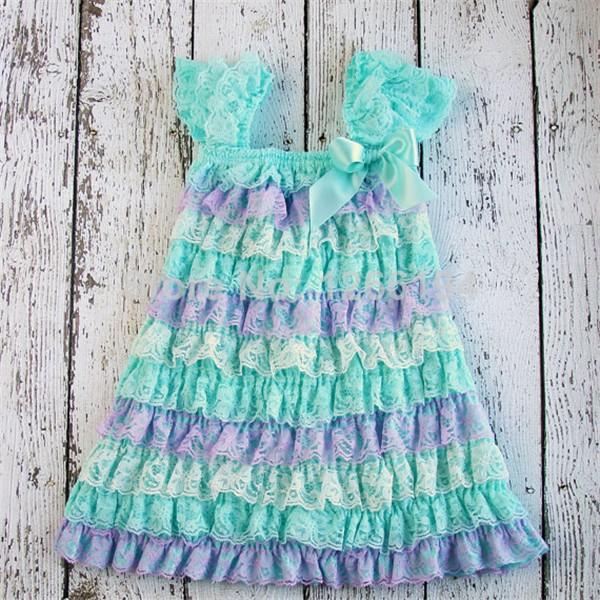 Детские платья с рюшами своими руками