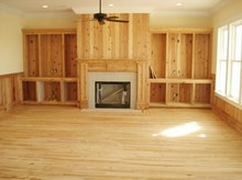 Engineered building material, bamboo flooring