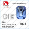 China stylish lead free point back crystal beads for Jewelry accessories