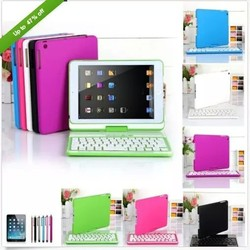 Factory direct sell bluetooth keyboard and protect case for ipad mini2/3/4, bluetooth link