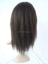 Elegant-wig 100% remy virgin human hair full lace wig undetectable wig PayPal accept