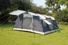 Family size tents with fiberglass pole and sleeping rooms best-selling KST-026