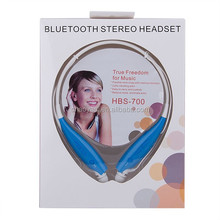 Newest Style Wireless Communication bluetooth earphone hbs-700 Noise Reduction & Echo Cancellation