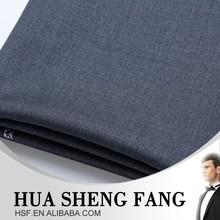 italian Grey 100%wool worsted ladies suit fabric