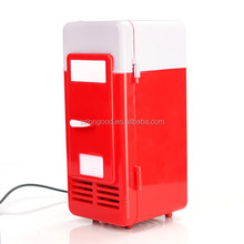 Mini USB PC Fridge Beverage Drink Cans Cooler & Warmer for Laptop Computer & Car