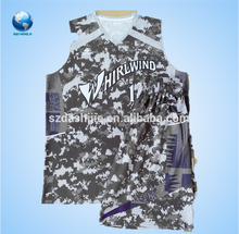 Hot Sale Wholesale Stripe Basketball Jersey/Uniform/Wear, Newest Fashion Dry Fit Basketball Uniform/Print Basketball Jersey