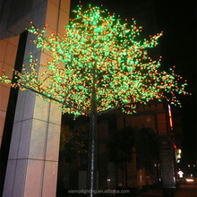 2015 good quality Best selling energy-saving led cherry outdoor holiday tree lighting