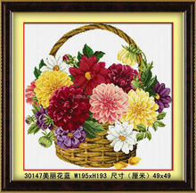 2014 FLOWER BASKET PAINTING,3DWALL PAINTING,CHINESE HANDWRITIG DIAMOND PAINTING,5 DIY DIAMOND PAINTING,2015 NEW DESIGN HOT SELL