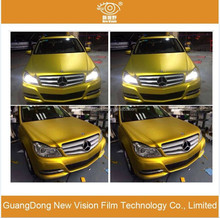 Super quality 0.18mm thickness protect car body and styling matte chrome car wrap film