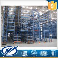 Custom Printing Oem Service Chemical Heavy Duty Warehouse Mezzanine Racking Shelving