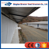 Prefabricated steel breeding poultry farm house for layers