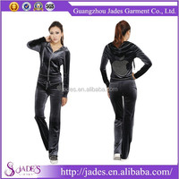Sports Velour Suit, Trainging Velour Suit, Ladies Velour Leisure Suit