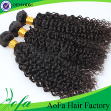 Wholesale mongolian kinky curly braid hair weave accept paypal