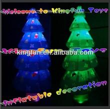 HOT LED inflatable Christmas tree decoration 2014