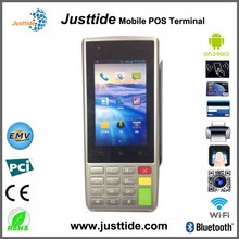 Smart Mobile Touch Screen POS Terminal With Thermal Printer