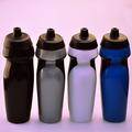 Botella de 600 ml de agua libre 2014 venta caliente pp / pe bpa de la categoría alimenticia