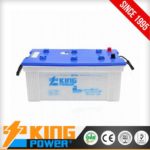 Deep cycle 12V180AH Dry charged car battery JIS standard N180 automotive battery