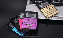 Popluar portable q1 china mobile phone bank credit card small size mini pocket phone