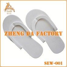 green products 2mm eva slipper,disposable sandals,white pedicure flip flops eva