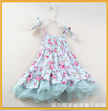 Wholesale children girl dress high quality Cinderella dress lovely summer girl dress