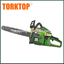 Chinese cheap gasoline chain saw cs5800 58cc gas chainsaw with electric start