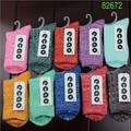 Vente chaude design de mode coréenne chaussettes pour femmes gros