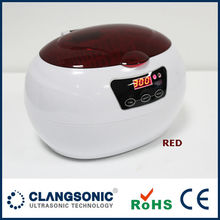 Plastic ultrasonic cd cleaner / ultrasonic cleaning machine jewelry