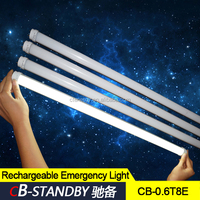Battery operated 18w led tube rechargeable tube led lights for emergency