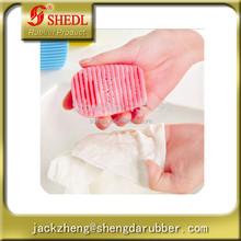 Silicone Hand-held Washboard Antiskid Laundry Cleaning Scrub Brush Washing Clothes Mini Laundry Rub