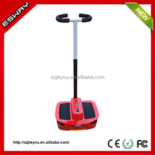 Newest type ES03 CE/RoHS/FCC approved chariot foot stepping scooter with 2 front small wheels motorcycle