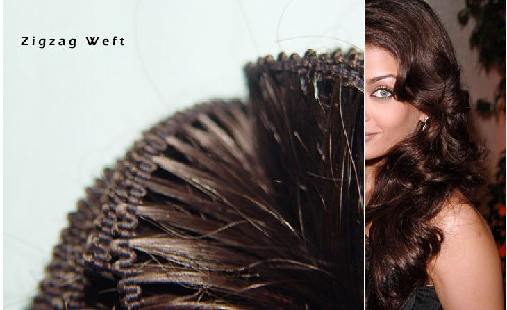 Zig Zag Indian Remy Hair 106