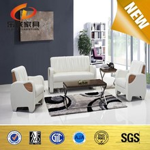 High Quality Unique Style Modern Comfortable Soft Leather Office Sofa Leather Sofa