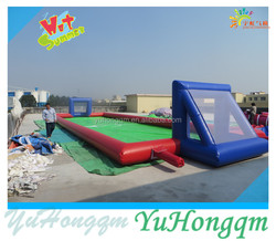 20mL Football Field ,Inflatable Water Soap Football Pitch With Cheap Price Inflatable Adult Game