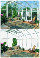 sun room/glass room/STG switchable transparent glass
